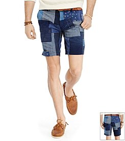 Polo Ralph Lauren® Men's Maritime Patchwork Flat Front Shorts