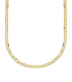 10K Yellow Gold Chain Necklace