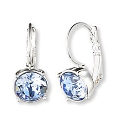 Nine West® Silvertone Medium Drop Earrings