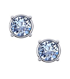 Nine West® Silvertone Stud Earrings