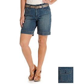 Lee® platinum label Georgia Belted Shorts