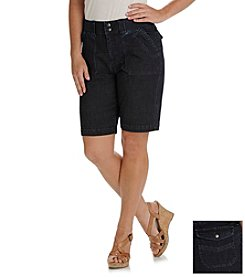 Lee® platinum label Relaxed Fit Daisy Bermuda Shorts