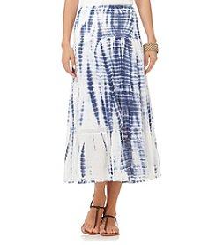 Chaps® Tie Dye Full Skirt