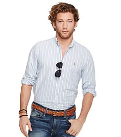 Polo Ralph Lauren® Men's Long Sleeve Stripe Sport Shirt