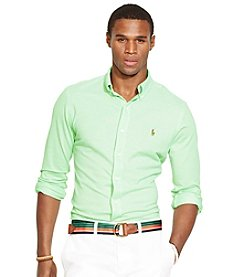 Polo Ralph Lauren® Men's Long Sleeve Slim Fit Oxford