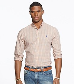 Polo Ralph Lauren® Men's Long Sleeve Check Sport Shirt