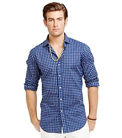 Polo Ralph Lauren® Men's Long Sleeve Poplin Sport Shirt