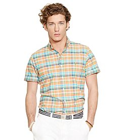 Polo Ralph Lauren® Men's Short Sleeve Plaid Sport Shirt