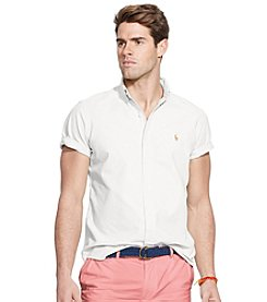 Polo Ralph Lauren® Men's Short Sleeve Oxford Sport Shirt