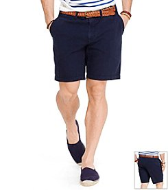 Polo Ralph Lauren® Men's Flat Front Seersucker Shorts