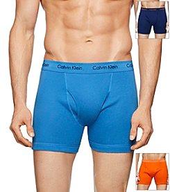 Calvin Klein Men's 3 Pack Boxer Briefs