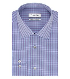 Calvin Klein Men's Plaid Button Down Dress Shirt