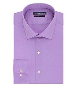 Geoffrey Beene® Men's Fitted Sateen Spread Collar Dress Shirt