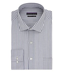 Geoffrey Beene® Men's Stripe Spread Collar Button Down Dress Shirt