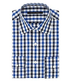 Sean John® Men's Regular Fit Checked Dress Shirt