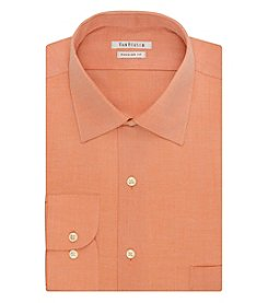 Van Heusen® Men's Solid Textured Button Down Dress Shirt