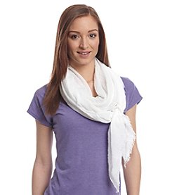 Collection 18® Lightweight Solid Crinkle Scarf