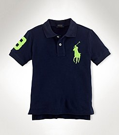 Ralph Lauren Childrenswear Boys' 2T-20 Short Sleeve Polo Top
