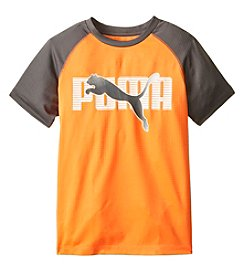 PUMA® Boys' 2T-20 Short Sleeve Gradient Cat Tee