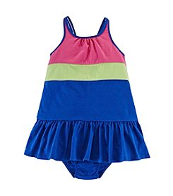 Chaps® Baby Girls' Colorblock Dress