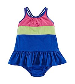 Chaps® Baby Girls' Colorblock Knit Dress