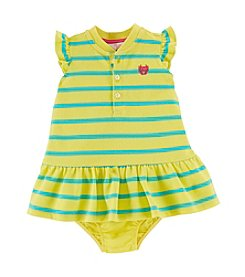 Chaps® Baby Girls' Striped Knit Dress