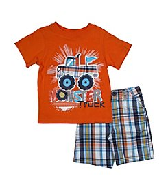 Nannette® Baby Boys' 2-Piece Monster Truck Outfit Set