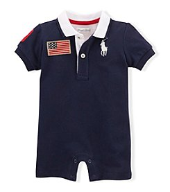 Ralph Lauren Childrenswear Baby Boys' Coming And Going Shortall