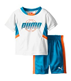PUMA® Baby Boys' 2-Piece Soccer Outfit Set