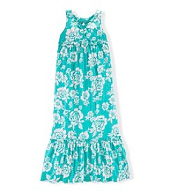 Chaps® Girls' 7-16 Printed Maxi Dress