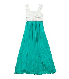 Rare Editions® Girls' 7-16 Colorblock Maxi Dress