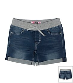 Lee® Girls' 2T-16 Pull On Denim Shorts
