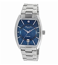Kenneth Cole New York® Men's Stainless Steel Diamond Watch