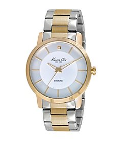 Kenneth Cole New York® Men's Two-Tone Diamond Watch
