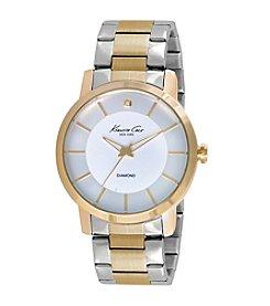 Kenneth Cole New York® Men's Two-Tone Diamond Watch
