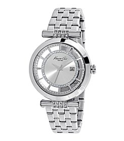 Kenneth Cole New York® Women's Transparent Stainless Steel Watch