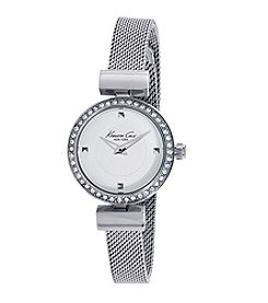 Kenneth Cole New York® Women's Classic Stainless Steel Watch with Mesh Bracelet