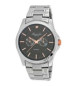 Kenneth Cole New York® Men's Two-Tone Multifunction Diamond Watch
