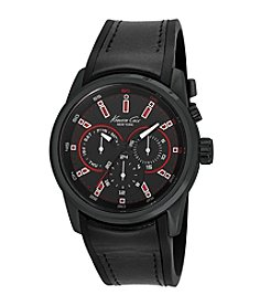 Kenneth Cole New York® Men's Multifunction Watch with Red LED Lighting