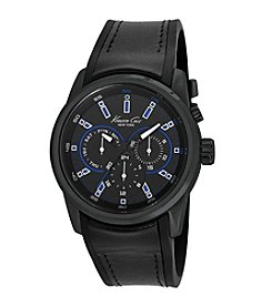 Kenneth Cole New York® Men's Multifunction Watch with Blue LED Lighting