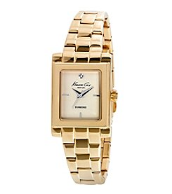 Kenneth Cole New York® Women's Diamond Gold Watch