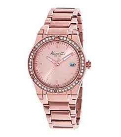 Kenneth Cole New York® Women's Classic Rose Goldtone Watch