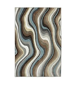 Karastan Euphoria Larkhall Granite Striped Area Rug