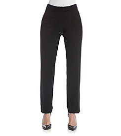 Anne Klein® Straight Leg Slim Pants
