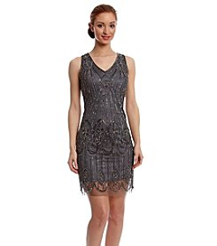 Pisarro Nights Beaded Sleeveless Dress