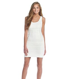 GUESS Zig Zag Sheath Dress