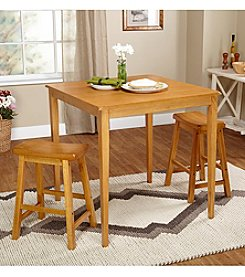 TMS 3-pc. Belfast Saddle Dining Set