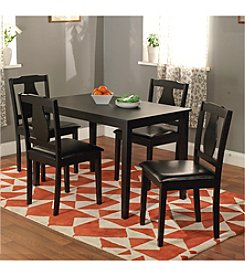 TMS 5-pc. Kaylee Black Dining Set