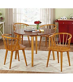TMS 5-pc. Florence Oak Dining Set