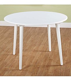 TMS Florence White Dining Table
